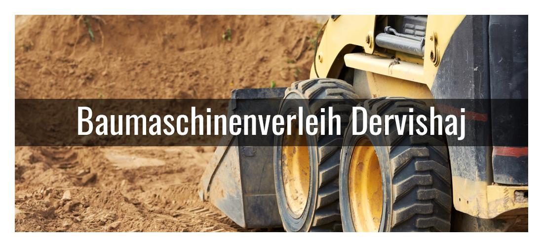 Baumaschinenverleih in Pforzheim - Dervishaj: Maschinenverleih, Baggerverleih, Bagger mieten
